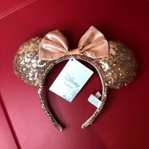 Disney Minnie Mouse Rose Gold Ears